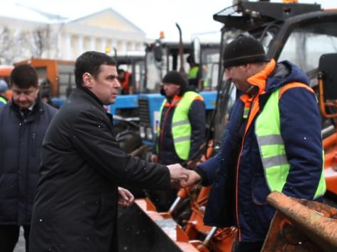 Мэрия столицы передаст Ярославской области 15 единиц дорожной техники
