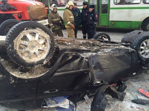 Нетрезвый ярославец перевернулся наавтомобиле и удалился от милиции