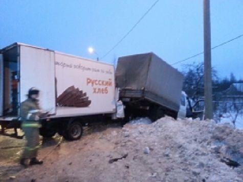 Под Рыбинском столкнулись две грузовые «Газели»