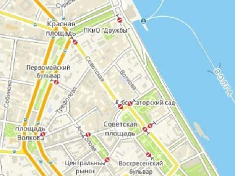 Вцентральной части Ярославля запретят движение транспорта