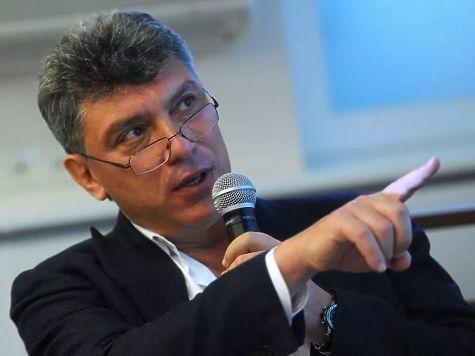 Столичная мэрия согласовала проведение марша памяти Бориса Немцова