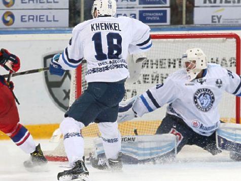 Хоккеисты минского «Динамо» проиграли третий матч «Локомотиву» вплей-офф Кубка Гагарина