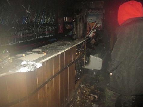 ВЯрославле наМосковском проспекте сгорел магазин пива
