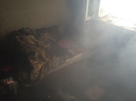 Врезультате сильного возгорания наКрасном Перекопе умер мужчина