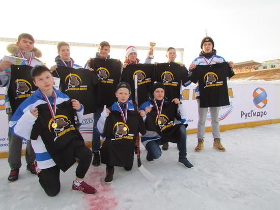 При поддержке энергетиков в Рыбинске прошел турнир по хоккею