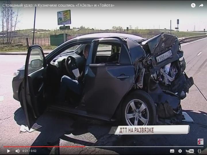 Под Ярославлем столкнулись «Валдай» и иностранная машина: есть пострадавшие