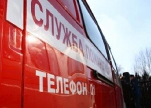 Ночной пожар наМосковском шоссе вРязани. Сгорела цветочная палатка