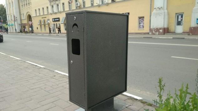 На дорогах Ярославля устанавливают новые урны