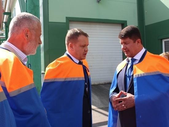 Мэр города Ярославля провел встречу с руководителями промышленных предприятий на заводе «Балтика-Ярославль»