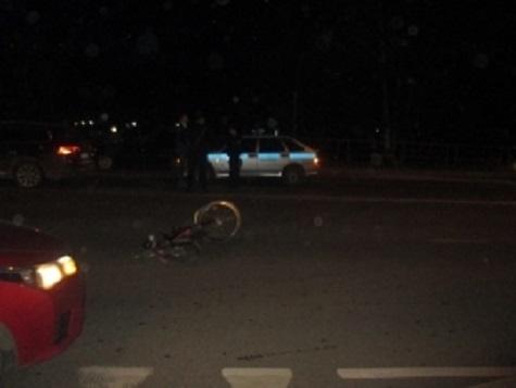 ВЯрославле Фольксваген  Passat сбил велосипедиста