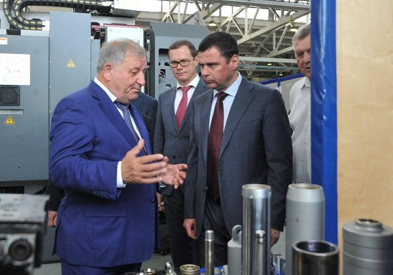 Дмитрий Миронов: «ВГаврилов-Яме будет создана территории опережающего финансового развития»