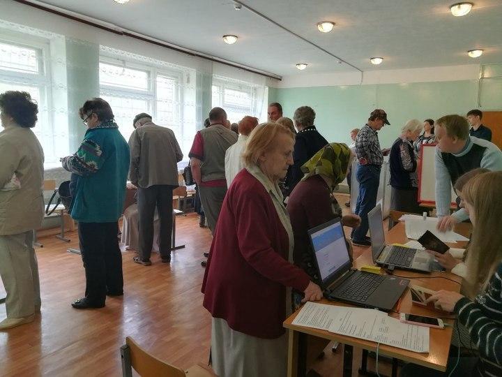 Неменее 20 тыс. избирателей проголосовали вУльяновской области на10.00