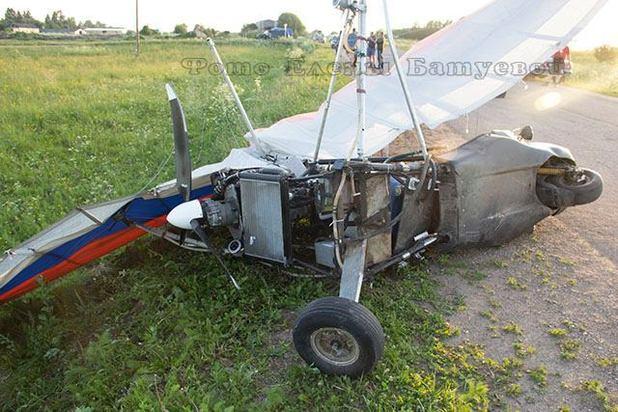 Под Ярославлем мотоцикл врезался вдельталет: как?