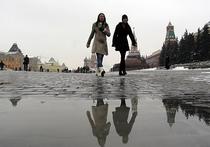 Новый атлантический циклон принесет в Москву осадки и аномальное тепло